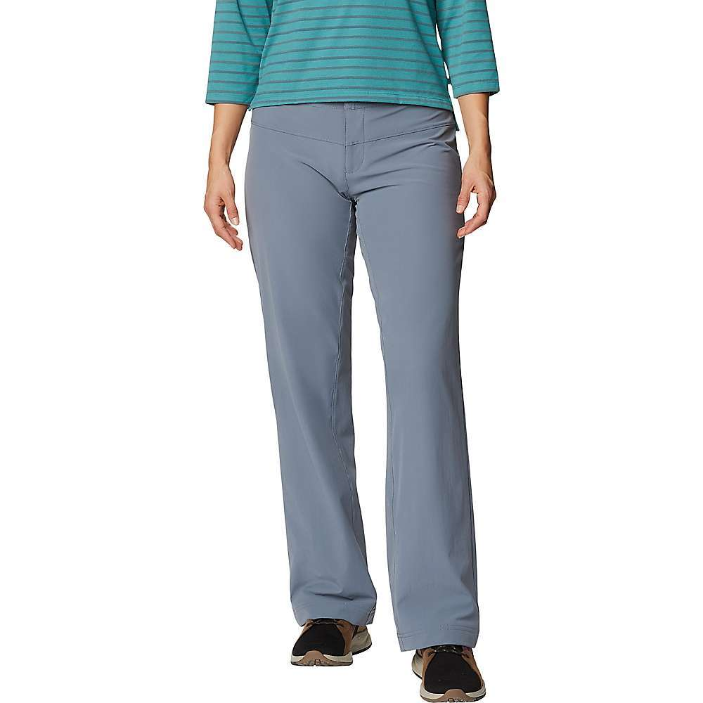 Features of the Mountain Hardwear Women's Yumalina Pant Durable, 4-way stretch fabric for movement Fully-lined with microfleece for added warmth Full length inseam gusset for mobility Soft draw-cord at waist for easy Fit adjustments DWR finish repels water - $85.00