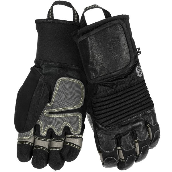 CLOSEOUTS . Lined with a warm wool blend and protected by a windproof, waterproof breathable OutDryand#174; membrane, Mountain Hardwear's Dragons Claw gloves are outstanding for  snowsports. Available Colors: BLACK/GREY, MORRELL, INCA GOLD, BLACK. Sizes: XS, S, M, L, XL. - $28.89