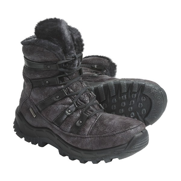 Ski CLOSEOUTS . A water-resistant Top Dry Tex upper and a fuzzy faux-fur lining make Romika's Polar 80 boots a warm, fashionable winter staple. Available Colors: ASPHALT. Sizes: 36, 37, 38, 39, 40, 41, 42. - $74.46