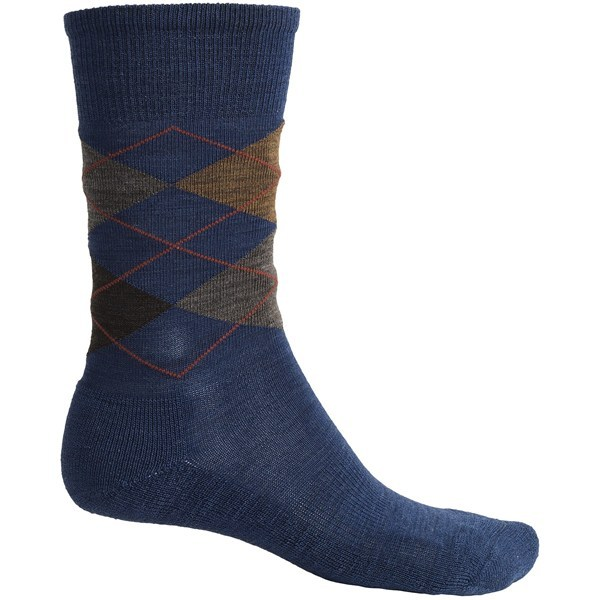 Entertainment 2NDS . Diamond Jim socks from SmartWool offer year-round comfort in a luxuriously soft, breathable and odor-free package. Available Colors: TAN W/ WHITE / GREEN, BURNT ORANGE W/GREY / OLIVE, TAUPE/NATURAL/GREY, GREY W/ BLUE GREY / LIGHT GREY / DARK BLUE, TAUPE W/ BROWN / BURNT ORANGE / DARK GREEN, LARCH HEATHER, EARTH HEATHER, CHARCOAL HEATHER, OATMEAL HEATHER, WASABI HEATHER, NAVY HEATHER, LARCH HEATHER/NAVY HEATHER, BRICK HEATHER, EARTH HEATHER/OATMEAL HEATHER, LODEN/LIGHT GREY, NATURAL HEATHER, UNION BLUE HEATHER, MEDIUM GREY/CHARCOAL HEATHER, BLACK, CHESTNUT HEATHER, BLACK/MAHOGANY, CHINO HEATHER, CADET BLUE HEATHER, LIGHT GREY HEATHER, BLACK/GRAY, CHARCOAL/NAVY, DEEP SEA HEATHER, DEEP NAVY HEATHER, LODEN/PESTO, TAUPE HEATHER, MEDIUM GREY/CHESTNUT HEATHER, RUST, LEGION BLUE, GRAY/PURPLE, BOTTLE GREEN HEATHER, NAVY/SEA HEATHER, AUBERGINE HEATHER, SMARTWOOL GREEN, BLACK/SMARTWOOL GREEN. Sizes: L, XL, M. - $5.86
