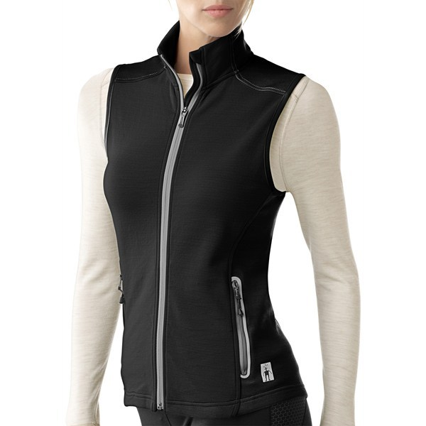 CLOSEOUTS . Insulate your core in SmartWooland#39;s PhD HyFi vest, a midlayer ingeniously constructed of merino wool to keep you warm and dry, with a double-knit nylon face for durability and wind resistance. Available Colors: BLACK, NATURAL, DEEP SEA. Sizes: S, M, L, XL, XS. - $103.95