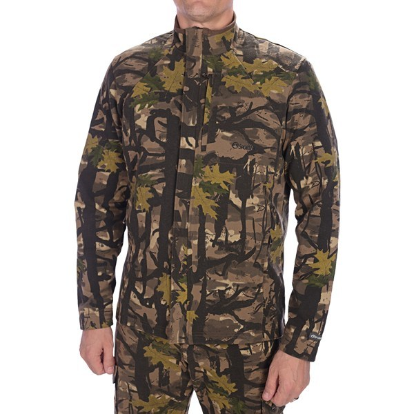 CLOSEOUTS . SportHilland#39;s 3SPand#174; Expedition camo jacket offers excellent outer-layer protection during windy days in the woods. Stretchy 3SPand#174; fabric is super-quiet and provides serious windproof protection. Available Colors: DEEP WOODS CAMO. Sizes: S, M, L. - $37.95