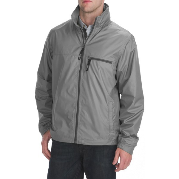 CLOSEOUTS . Pack it into its own left pocket for emergency coverage anywhere. Woolrich's Dew Point jacket is resistant to water and wind, with mesh upper lining for exceptional breathability. Available Colors: PESTO, PUMICE. Sizes: S, M, L, XL, 2XL. - $59.95