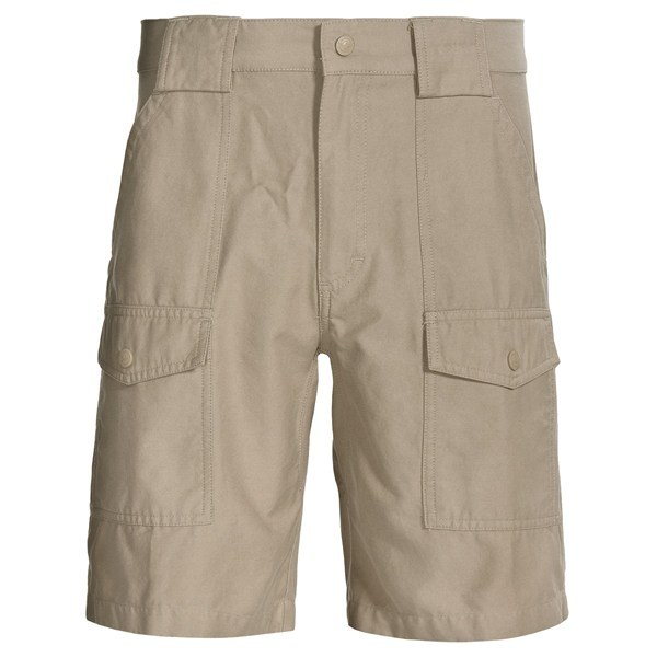 CLOSEOUTS . A best-seller from Woolrich, rugged Tideland shorts are well made from a soft, lightweight blend of cotton and nylon, and designed with a gusset for unrestricted movement and large, easy-access pockets. Available Colors: KHAKI, FIELDSTONE, WHEAT. - $29.96