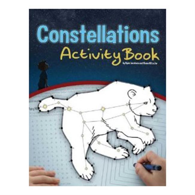 Stars are fascinating to children of all ages. After all, who among us hasn't spent time gazing skyward, looking for familiar constellations? Now you can provide this perfect introduction to the young astronomer in your life. Twenty-six dot-to-dots are supplemented by other activities that help tell the story behind each constellation. - $5.95