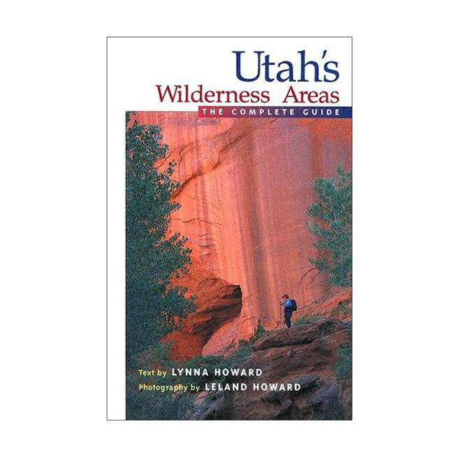Utahs Wilderness Areas, The Complete Guide, profiles the state's 15 designated and 83 proposed wilderness areas. Illustrated by handy maps and Leland Howard's breathtaking photographs, the text couples Lynna Howard's wry wit with her meticulously crafted trail descriptions. The result is an eye-pleasing guide both functional to use and entertaining to read. Utah's several million acres of designated and proposed wilderness encompass deep sandstone canyons, thousand-foot-tall cliffs, high alpine terrain, and may more natural wonders- and this book helps outdoor adventurers tour them safely and intelligently.  About the Author: Lynna Prue Howard is a talented author whose work ranges from technical writing for scientific websites to adventure travel. - $24.95