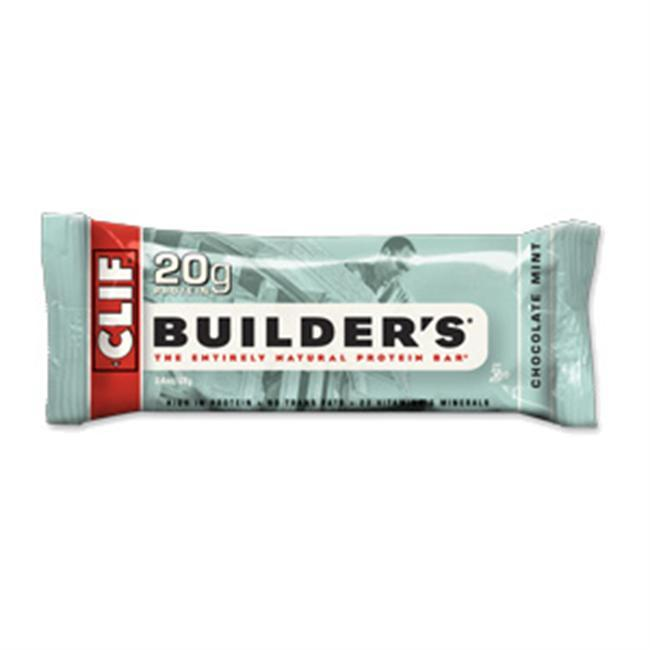 CLIF Builders bar is the perfect way to get through a hard days work. And unlike other protein bars, a CLIF Builders bar has no trans fats or hydrogenated oils. Theyre crispy, tasty and entirely natural. - $1.49