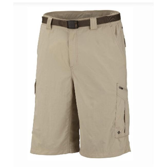 From boulder-hopping to fjord-fording, the Silver Ridge Cargo Short from Columbia Sportswear works overtime to keep you cool and comfortable. Its lightweight yet rugged, with an ber-comfy cut featuring a gusset detail for ultimate freedom of movement. Advanced Omni-Wick technology wicks sweat, breathes, and aint afraid of an impromptu dunk, while Omni-Shade UPF 50 provides enough sun protection to be recommended by the Skin Cancer Foundation. Elastic waistband inserts at either side create the perfect fit without restricting. A buffet of multi-functional pockets keep your essentials secure. Modern Classic, straight-leg fit. - $33.75