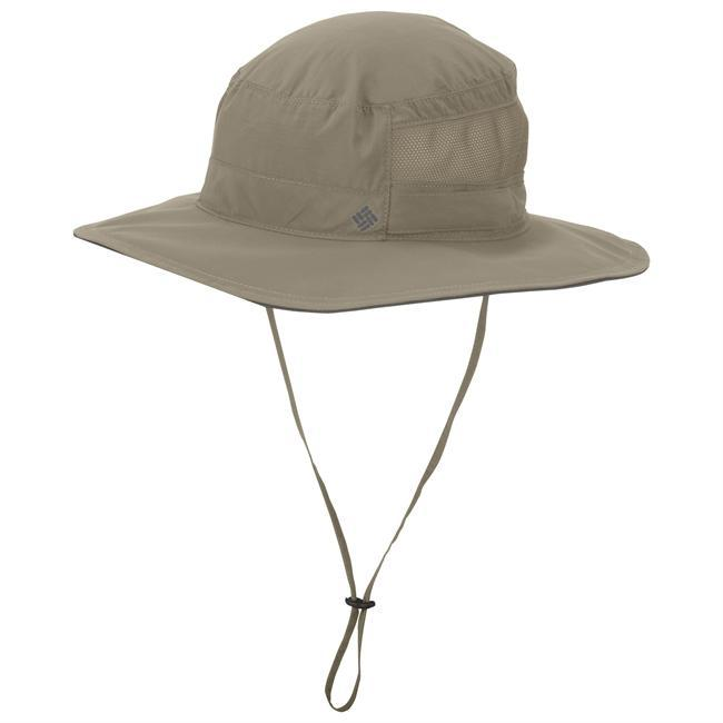 This high-performance fishing hat battles the heat, combining UPF 50 fabrication, which blocks out 98% of harmful UVA and UVB rays, and an Omni-Wick sweatband and mesh vent panel, which is non UPF, to keep you cool and the sweat from dripping in your eyes. - $30.00