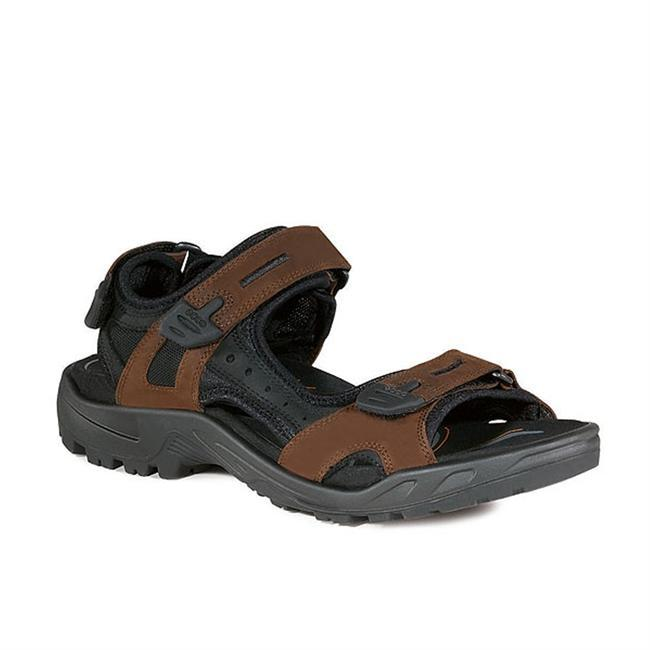 Tackle the terrain in pure comfort in this performance sandal. Craftsmanship and quality have made Ecco sandals famous, and this solidly built comfortable sandal continues that tradition. - $130.00