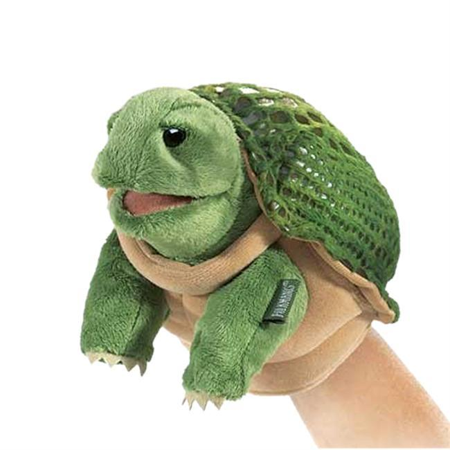 Patience is a virtue! The LITTLE TURTLE is a slow and steady friend with a lot of personality.  Little Puppets are smaller versions of the stage puppets  and are specifically designed for smaller hands. - $13.00