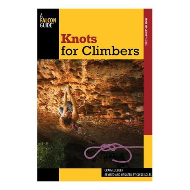 This completely revised and updated edition of Craig Luebbens bestseller covers the ten essential climbing knots all climbers need to know, then presents sixteen others for special situations. All new color photos make learning these knots a cinch. Knots include the Munter hitch, the auto block, the clove hitch, and the equalizing figure eight. Also included are photos of the knots being used in the field and an overview of essential climbing equipment.  About the Authors:  Craig Luebben was an AMGA Rock Guide Instructor and served on the Board of Directors for six years. He was the author or coauthor of nine books on climbing and wrote numerous gear reviews and travel articles for Climbing and Rock & Ice magazines. His FalconGuides Advanced Rock Climbing, coauthored with John Long, won the Mountain Exposition Award at the 1997 Banff Mountain Book Festival. Craig died in 2009 while leading a pitch on Mount Torment in North Cascades National Park.  Clyde Soles is a freelance writer and photographer with four decades of climbing experience. The former senior editor of Rock & Ice magazine, he has authored or coauthored nine outdoor how-to books, including two other knots books. - $9.95