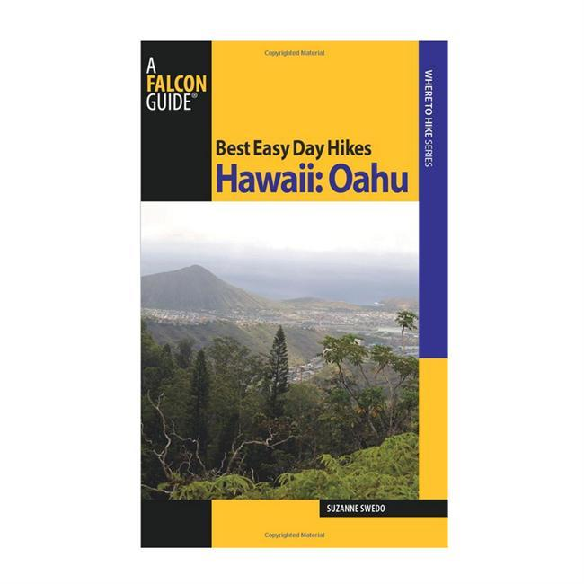 Best Easy Day Hikes Hawaii: Oahu includes concise descriptions and detailed maps for twenty easy-to-follow hikes on the island that is home to Honolulu and Wai-Kiki Beach. This Capital Isle is often the place that comes to mind when you think of Hawaii. Discover a landscape of diverse scenery and natural splendors, from the Koolau Mountains to Maunawili Falls, and from Makapuu Point to Kaena Point.  About the Author: Suzanne Swedo is the author of several FalconGuides, including Best Easy Day Hikes guides to Kauai, Maui, and the Big Island, as well as Hiking the Hawaiian Islands. - $9.95