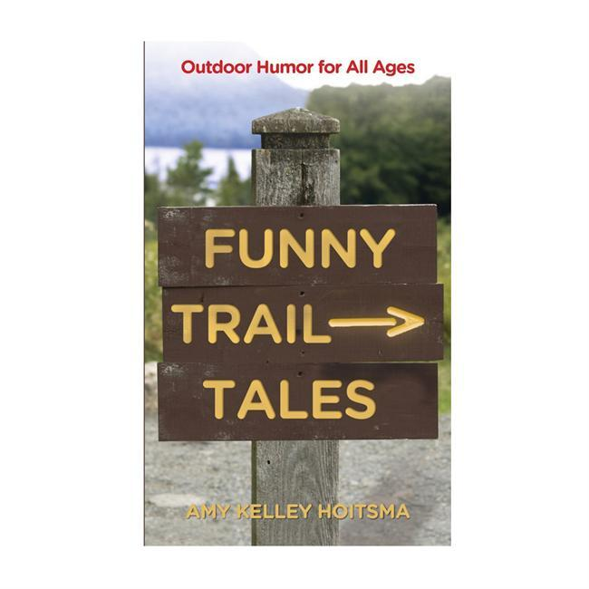 Humor is a welcome companion on any trip. This small, packable anthology of the funniest and most entertaining outdoor prose ever written will have you hee-hawing in your hiking boots and snickering in your sleeping bag. Fully revised and updated, Funny Trail Tales features twelve of the most humorous stories written about the outdoors. From David Sedaris to Tim Cahill, this anthology will tickle your funny bone in the backcountry.  About the Author: Amy Kelley Hoitsma grew up in Madison, Wisconsin, where family vacations were spent camping. Today she is a freelance graphic designer. - $9.95