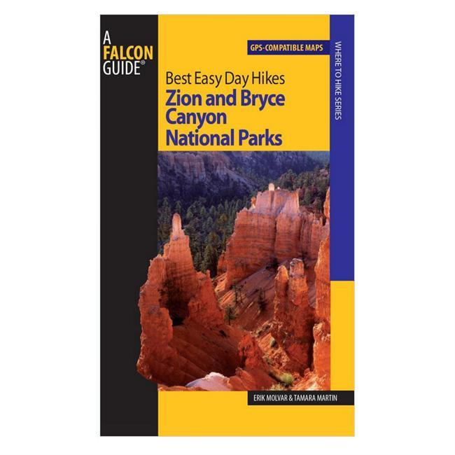 Best Easy Day Hikes: Zion and Bryce Canyon National Parks features concise descriptions and easy-to-follow maps for easily manageable hikes.  Eric Molvar and Tamara Martin describe the best routes for those who have limited time or abilities, without missing out on the areas scenic splendors. - $9.95