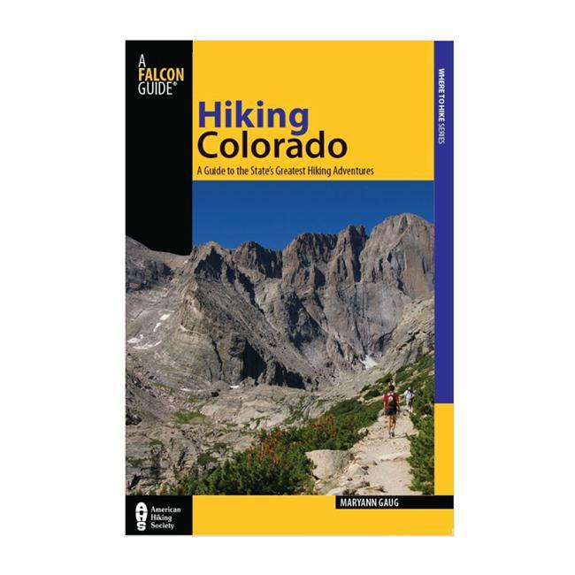 Camp and Hike From mountainous trails to scenic paths, Hiking Colorado, Fourth Edition, provides readers with a comprehensive guide to Colorado's many hikes. With updated maps and photography, reviser Sandy Heise leads readers through Colorado's many exciting outdoor adventures. Using GPS coordinates and detailed maps of each route, Hiking Colorado is the most complete and accessible hiking guide available. - $24.95