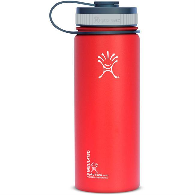 With the tremendous popularity of their 40 oz and 64 oz industry standard Wide Mouth bottles, Hydro Flask decided to add another member to their family - the 18 oz Wide Mouth! All of the same great features you have come to expect from the Wide Mouth now in a compact, easy to carry size! - $25.99