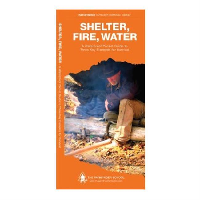 While in the wilderness, the three key elements needed for survivalspecifically for mainting core body temperature necessary for lifeare shelter, water, and fire. The most effective man-made and natural shelters for protection against the elements are included within, along with how to identify and utilize different fire types and, finally, how to collect and disinfect water sources in order to protect against waterborne viruses and pathogens. - $7.95