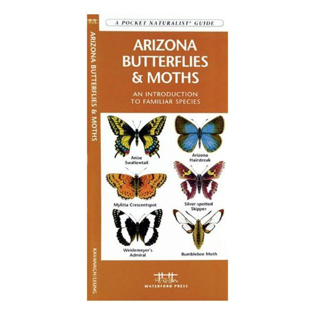 Perfect for the nature enthusiast, this essential pamphlet explores more than 70 species of butterflies and moths that can be found in Arizona. Laminated for durability, this handy guide is a great source of portable information and ideal for field use by novices and experts alike. - $6.95