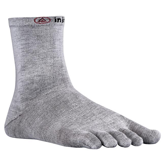 The Liner Crew from Injinji provides an extremely thin 5-toe sleeve protective base layer to be worn with your favorite outer layer sock offering the best fit, feel, and performance inside any shoe.  The Liner offers superior moisture management, and eliminates skin-on-skin friction that is primary cause of blisters. - $9.00