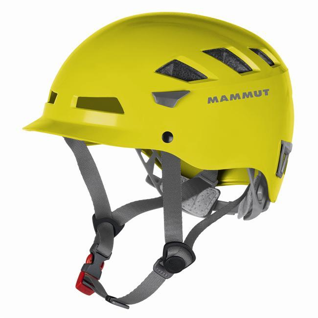 Climbing The climbing helmet with style - the El Caps stylish design leaves no excuse for not wearing a helmet when climbing. With its visor and narrow design, the El Cap creates a completely new look. In technical terms, the hybrid helmet consists of a robust outer shell combined with an innovative 2K-EPS core (two styrofoam layers of different thicknesses are combined in the Conehead method) to ensure maximum absorption and the highest possible safety. The many ventilation openings and perfect fit make it extremely comfortable to wear. - $69.95