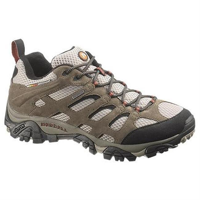 Camp and Hike The Merrell Moab Waterproof features Dura leather strapping for support and protection, and the open-window venting of the waterproof, breathable mesh upper will keep your feet comfortable no matter what the temperature is outside. - $120.00