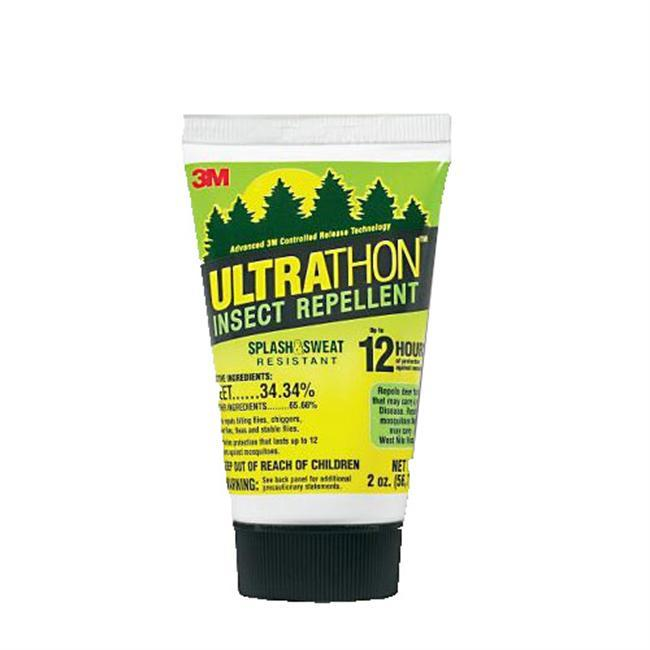 Ultrathon was originally developed for the U.S. military for use in challenging environments that require long-lasting protection. Because of its proven effectiveness, Ultrathon is the repellent most recommended by the travel medicine community.  The 33% DEET formula is dispersed in a unique controlled-release polymer, which reduces the loss of DEET from the skin surface through absorption and evaporation. When Ultrathon is used on exposed skin in conjunction with permethrin-treated clothing, complete protection against annoying and potentially disease-causing mosquitoes and ticks can be achieved. - $9.99