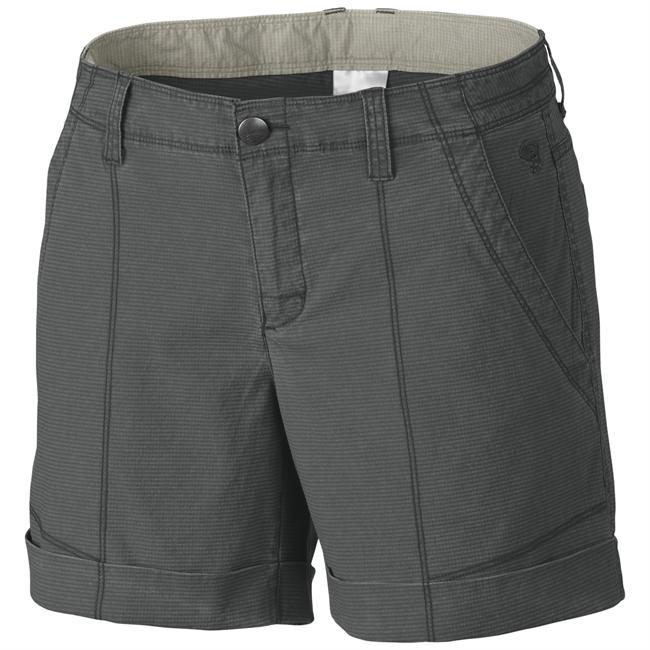 Constructed of a cotton/nylon blend, Mountain Hardwear's Wanderland Short offers great stretch for comfort while traveling along with structured seaming for style. - $65.00