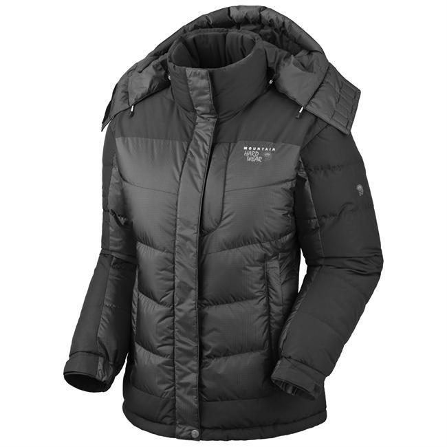 Designed to provide warmth without impeding mobility, the Chillwave Jacket from Mountain Hardwear is a modern take on the traditional down jacket.  Hem drawcord and removable hood help keep in warmth while handwarmer pockets offer a toasty escape when the weather gets harsh. - $375.00