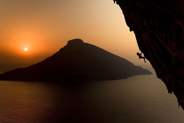 Climbing On the Greek island of Kalymnos...WOW!