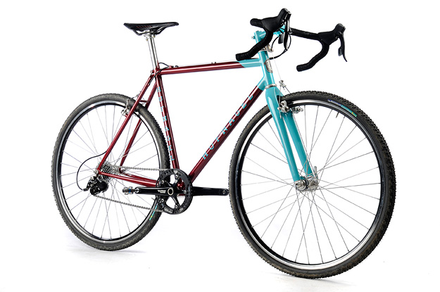 Fitness HUFNAGEL 1×10 CROSS BIKE - Interesting color choices as well! I dig!