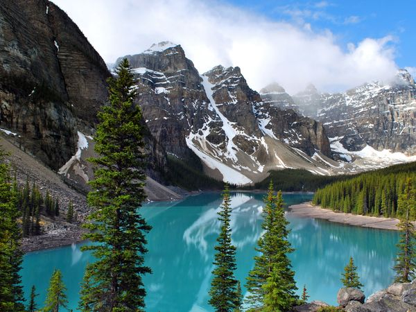 Camp and Hike The first national park established in Canada, Banff National Park