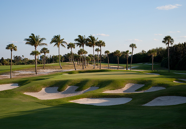 Golf Seminole G.C.(Hole No. 5) Juno Beach, Fla.