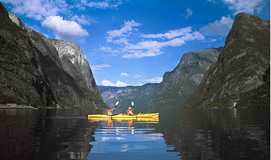 Kayak and Canoe Norwegian Fjords Kayaking