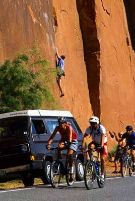 Climbing Wall Street: Moab's Most Popular Climbing Area