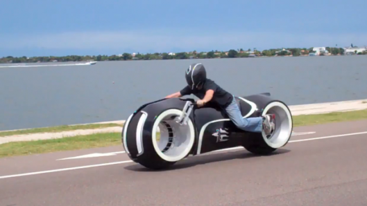 Motorsports All-electric Tron Lightcycle hits the streets