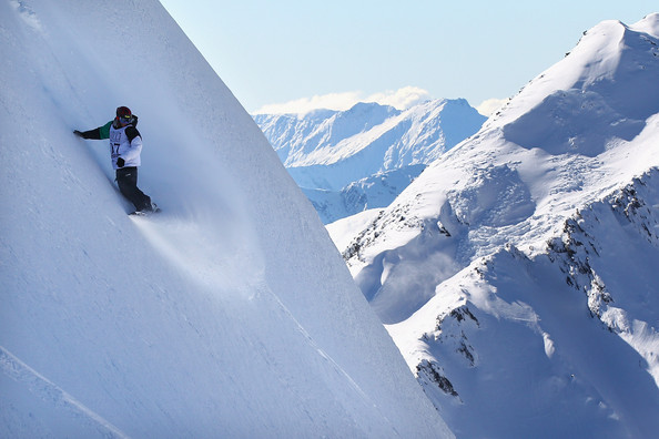 Snowboard Extreme Day of the World Heli Challlenge at Mount Aspiring National Park