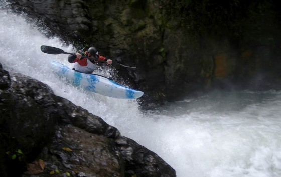 Kayak and Canoe Alseseca Kayak Race, the final competition in the first World Whitewater Series.