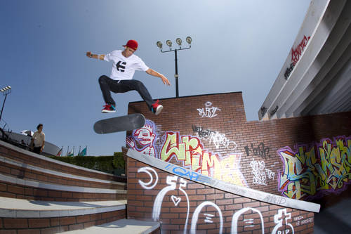 Skateboard Ryan Sheckler at X Games 14