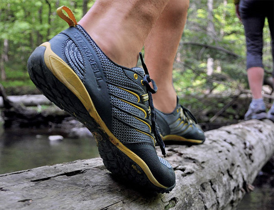 Camp and Hike Barefoot Trail running shoes: Merrell Barefoot Trail Gloves