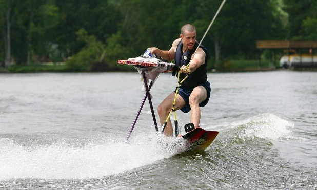 Wake Extreme Ironing... One of my favorite sports
