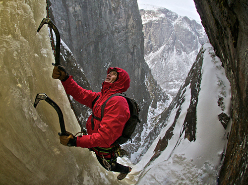 Climbing Ice Climber Chad Peele on First Ascents in Norway's Fjord Country