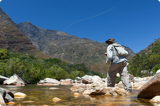 Flyfishing the art of fly fishing...