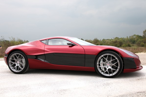 Auto and Cycle The 1 Percent's Electric Car: The $980,000 Rimac Concept_One