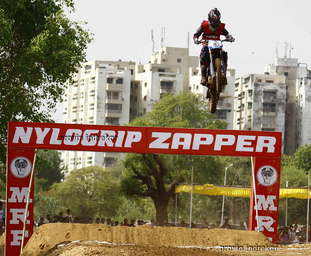 Motorsports MRF SUPERCROSS CHAMPIONSHIP-2012 HELD IN AHMEDABAD