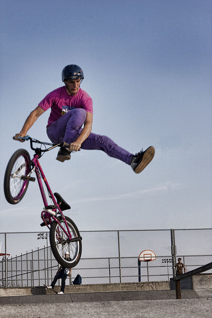 BMX sick and colorful