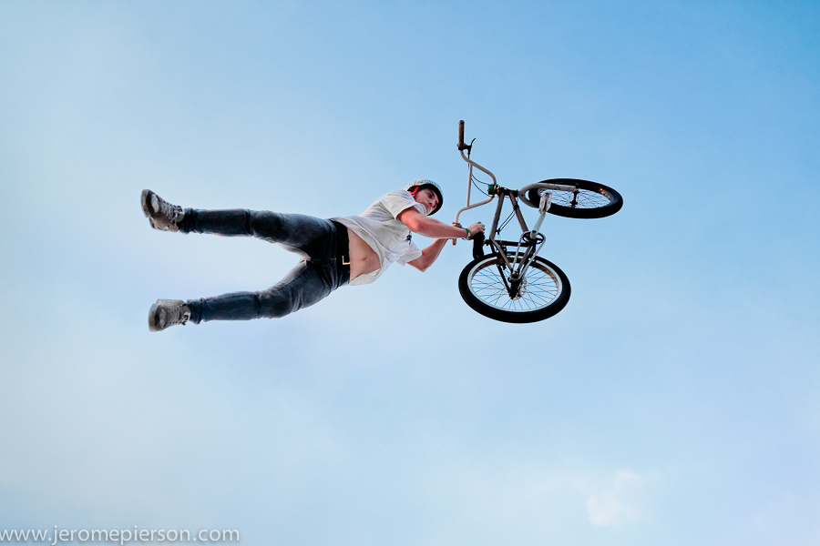 BMX Superman by Patrick Aubichon at Shanghai SMP