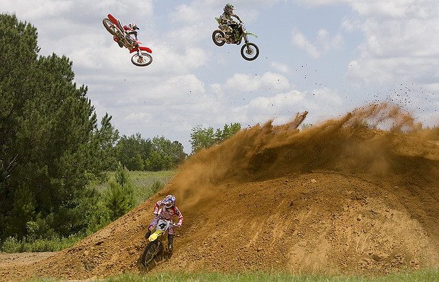 Motorsports Ricky Carmichael, Ben Townley and Adam Cianciarulo