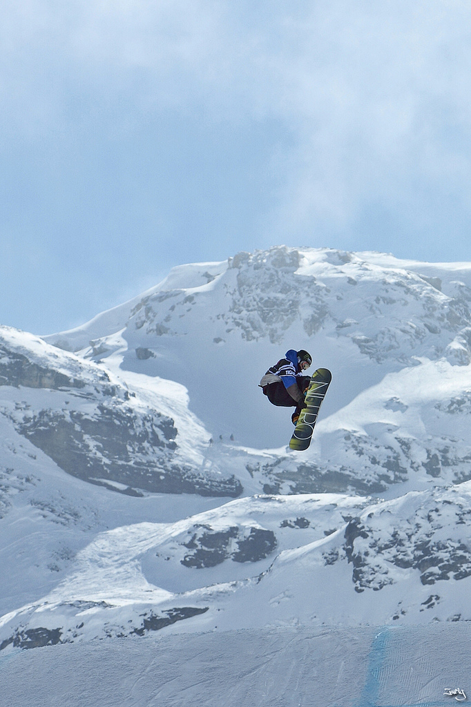 Snowboard Winter X games Europe