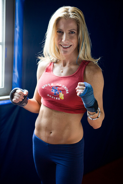 Fitness Jolie Glassman, Owner of South Florida Boxing